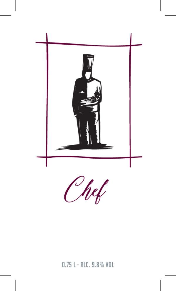 De Wijnmakers Chef voor etiket