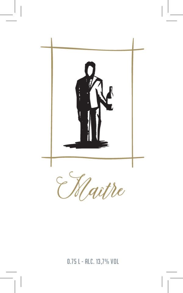 De Wijnmakers Maitre vooretiket