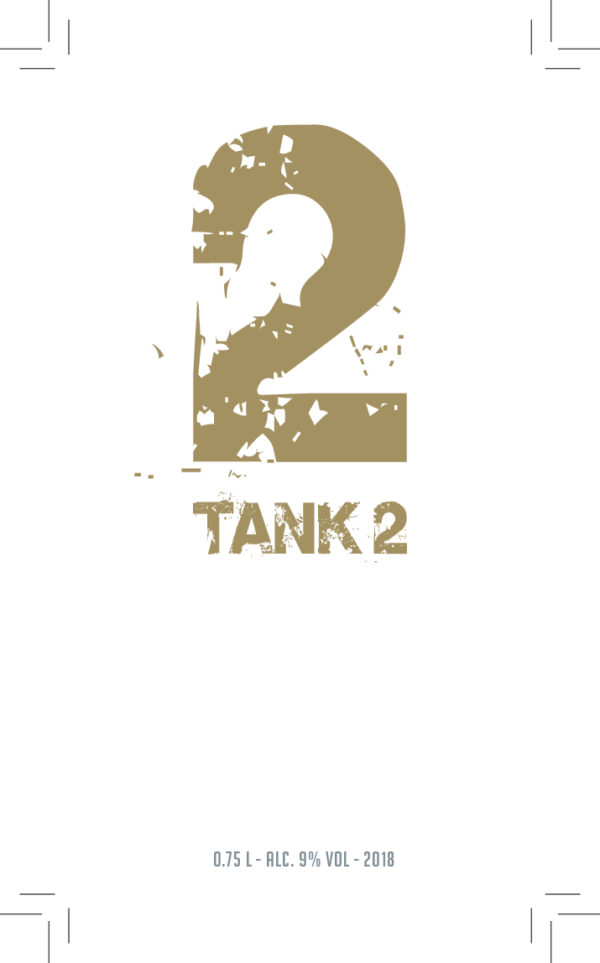 De Wijnmakers Tank2 vooretiket