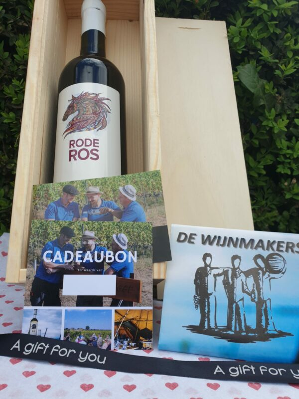 Moederdag wijnpakket De Wijnmakers